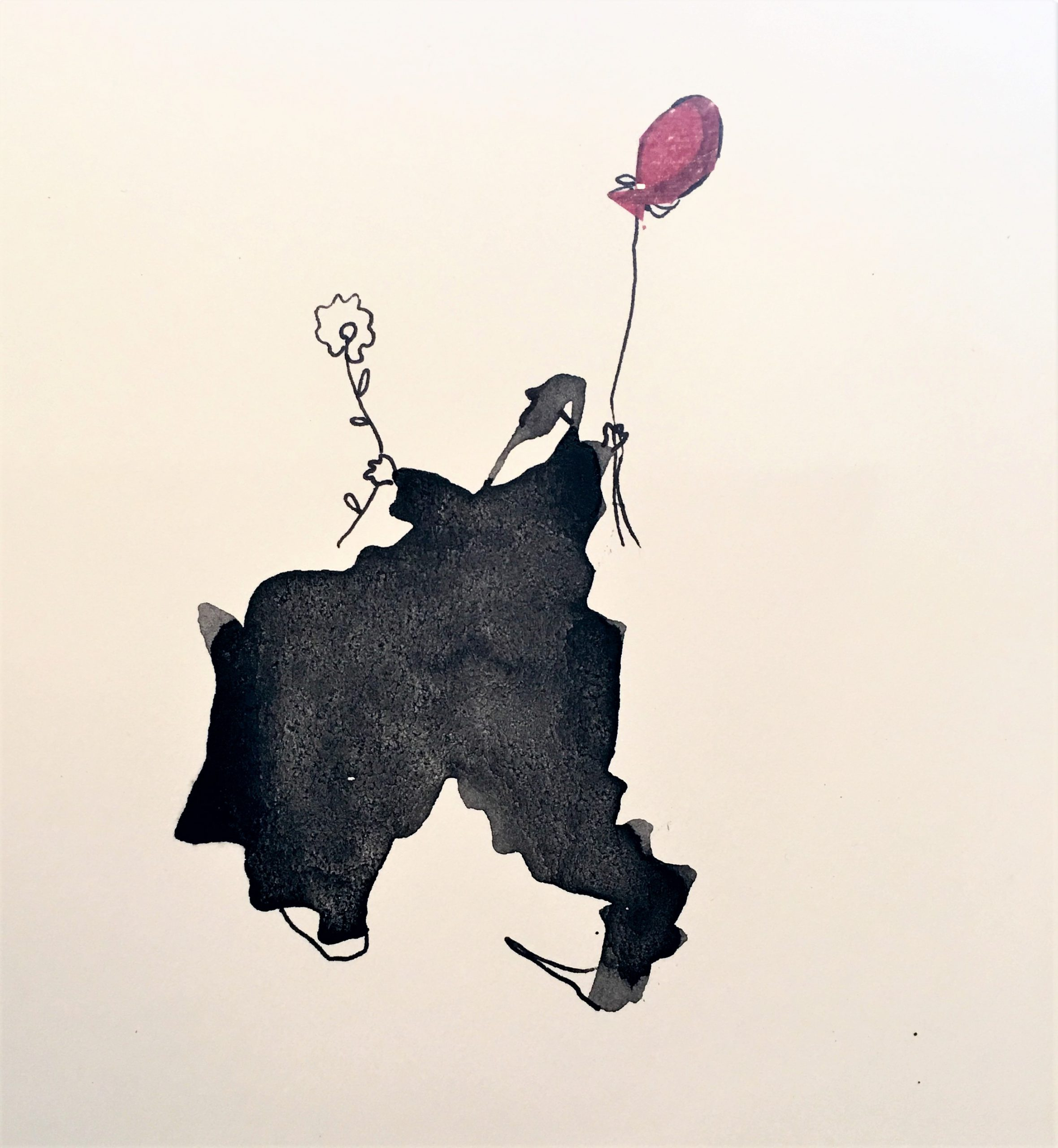 A Red Balloon - Sold
