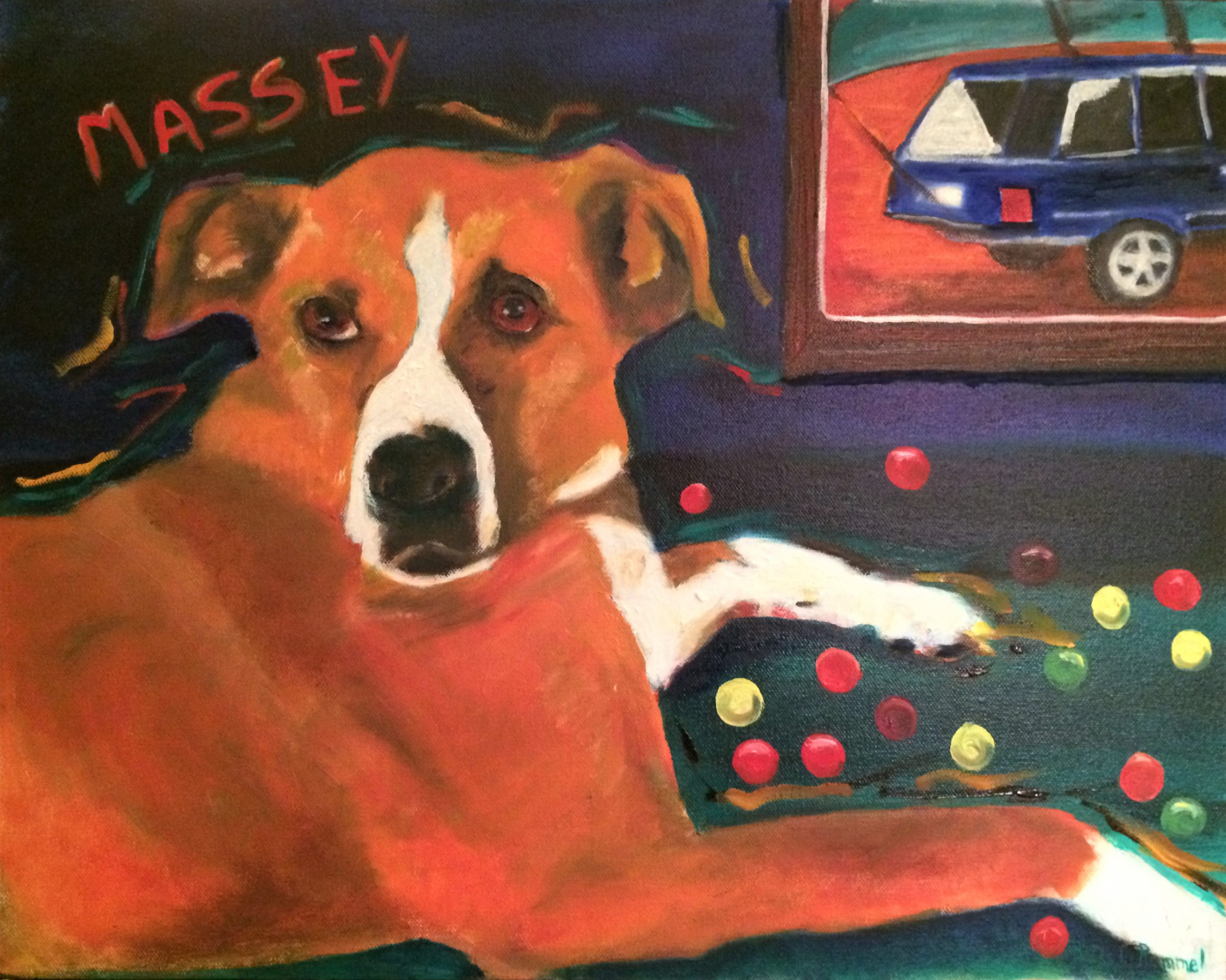 Pet Portrait Massey